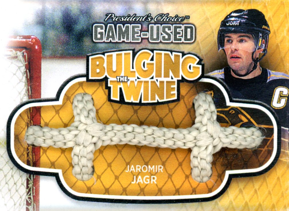 Jaromir Jagr Bulging The Twine #'d 3/5