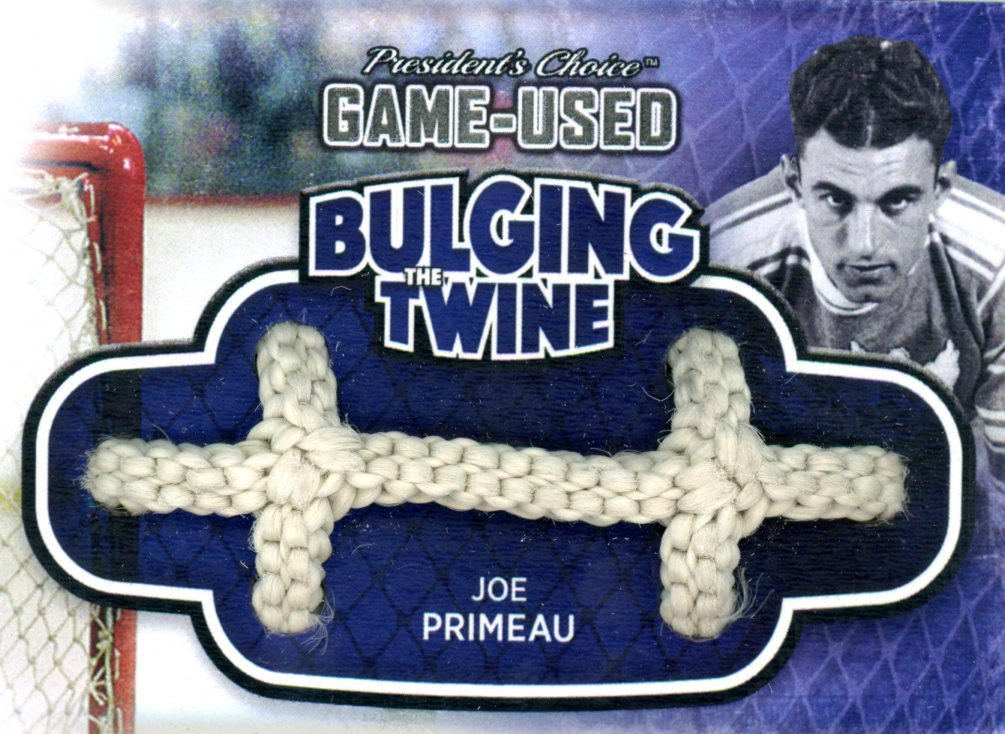 Joe Primeau Bulging The Twine #'d 2/5