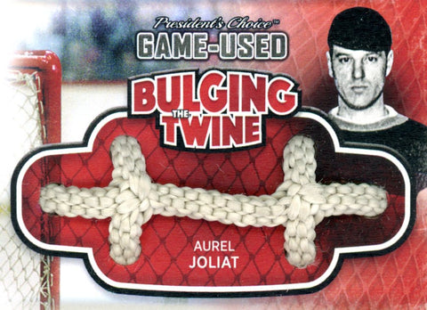 Aurel Joliat Bulging The Twine #'d 4/5