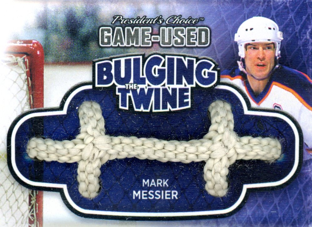 Mark Messier Bulging The Twine #'d 1/5