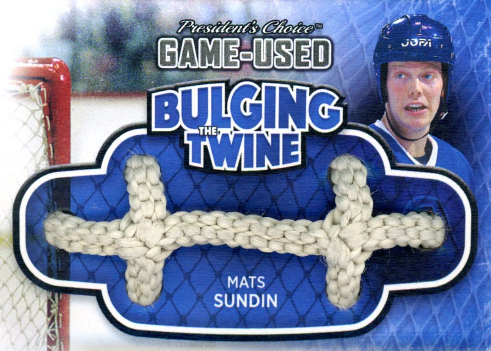 Mats Sundin Bulging The Twine #'d 1/5