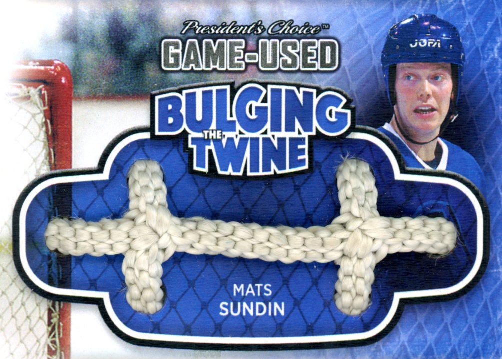 Mats Sundin Bulging The Twine #'d 2/5