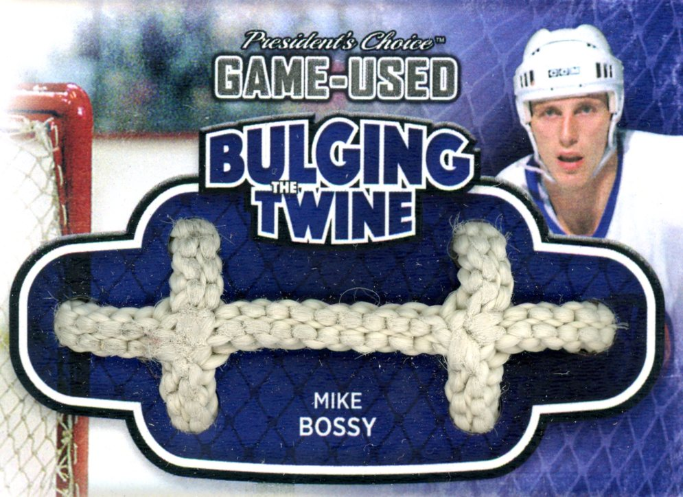 Mike Bossy Bulging The Twine #'d 2/5