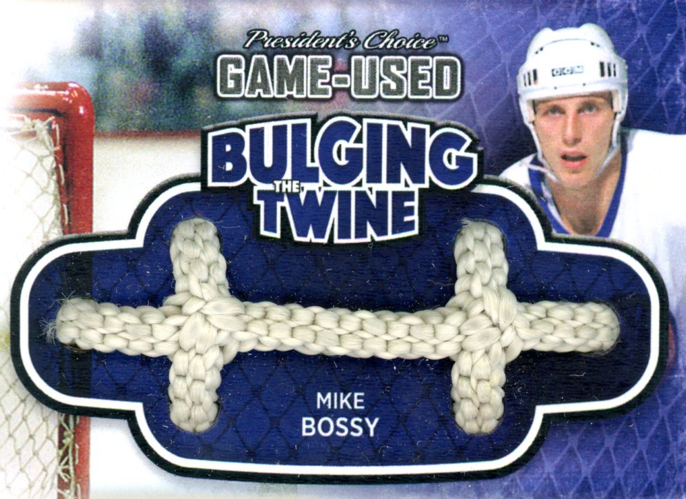 Mike Bossy Bulging The Twine #'d 4/5