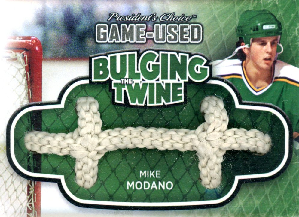 Mike Modano Bulging The Twine #'d 3/5