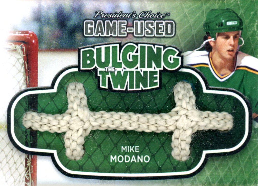 Mike Modano Bulging The Twine #'d 4/5