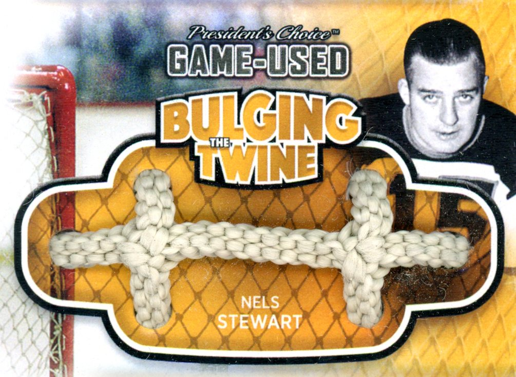 Nels Stewart Bulging The Twine #'d 2/5