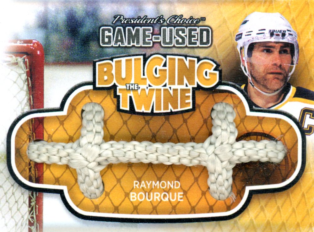Raymond Bourque Bulging The Twine #'d 4/5