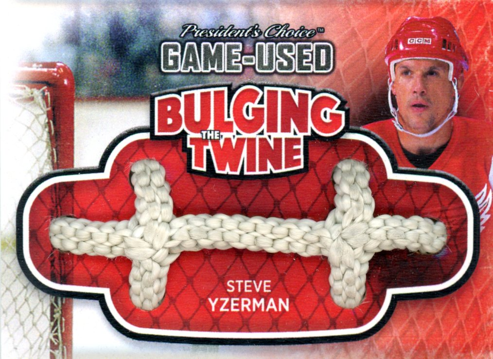 Steve Yzerman Bulging The Twine #'d 3/5