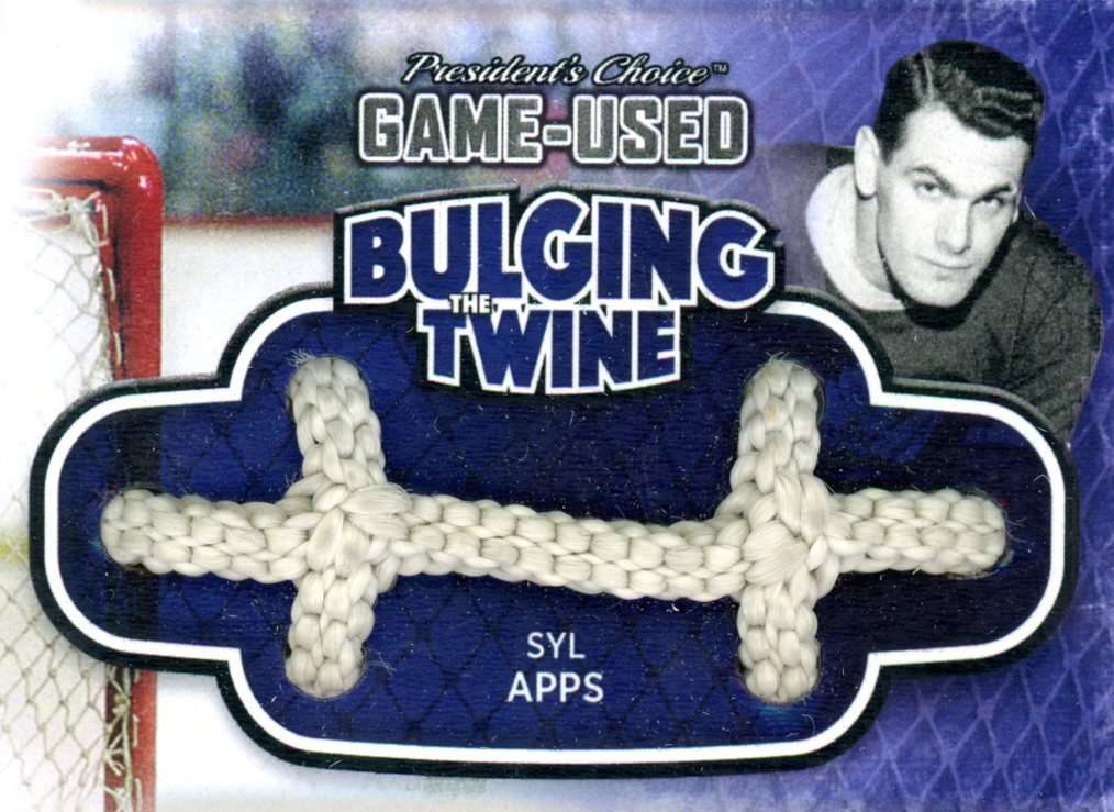 Syl Apps Bulging The Twine #'d 2/5