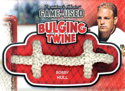 Bobby Hull Bulging The Twine #'d 2/5