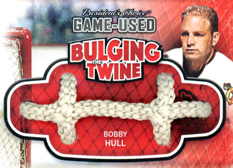 Bobby Hull Bulging The Twine #'d 3/5