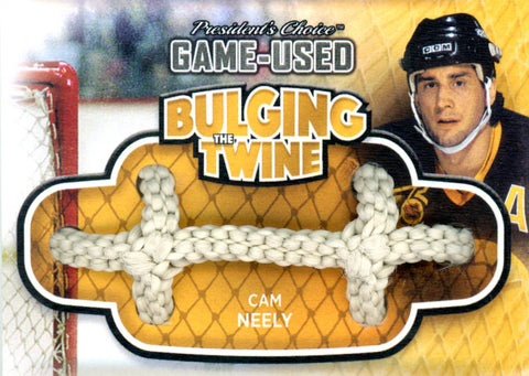 Cam Neely Bulging The Twine #'d 2/5