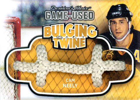 Cam Neely Bulging The Twine #'d 3/5