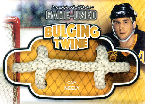 Cam Neely Bulging The Twine #'d 4/5
