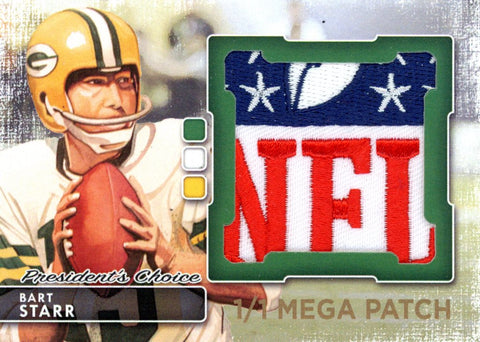 Bart Starr MegaPatch 1/1