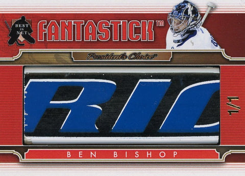 Ben Bishop (Tampa Bay) FantaStick 1/1