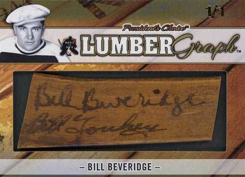 Bill Beveridge LumberGraphs 1/1