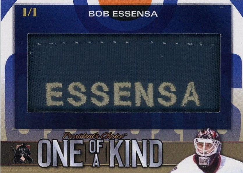 Bob Essensa One of a Kind 1/1