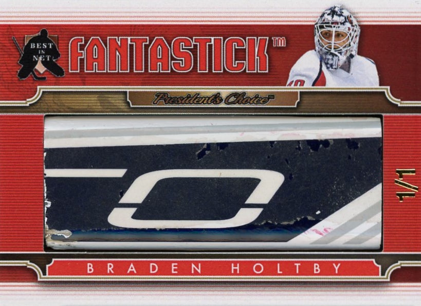 Braden Holtby (Washington) FantaStick 1/1