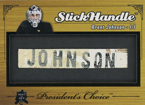 Brent Johnson StickHandle 1/1
