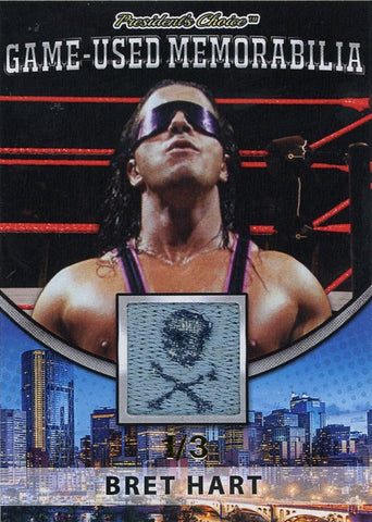 Bret Hart Game-Used Memorabilia /3