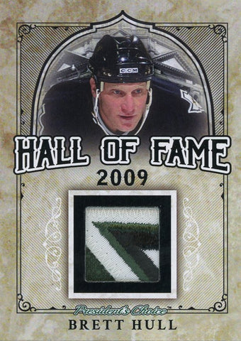 Brett Hull Hall of Fame 1/1