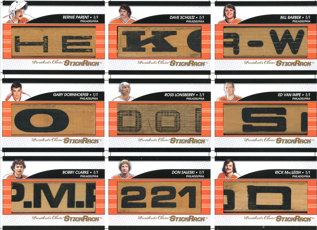 Broad Street Bullies Uncut Sheet /3