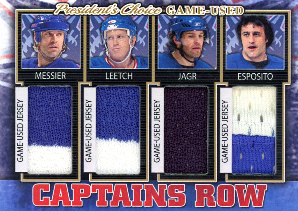 New York Rangers Captains Row #'d 3/5