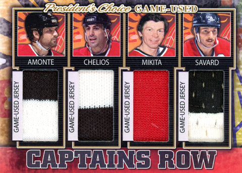 Chicago Blackhawks Captains Row #'d 4/5