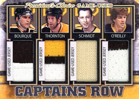 Boston Bruins Captains Row #'d 1/5