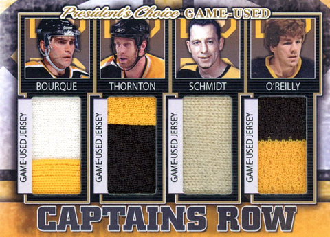 Boston Bruins Captains Row #'d 4/5