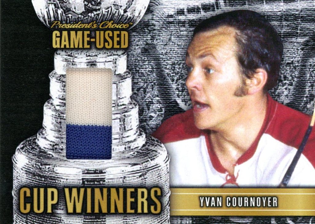 Yvan Cournoyer Cup Winners #'d 2/10