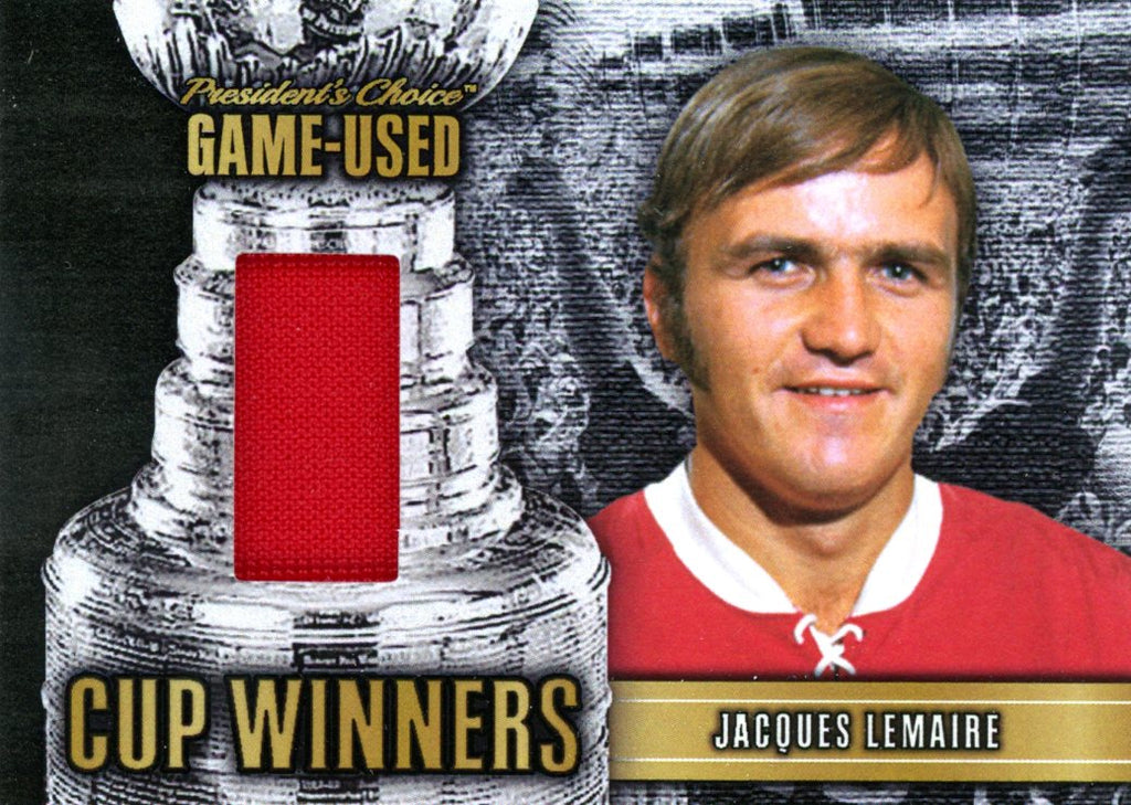 Jacques Lemaire Cup Winners #'d 1/10