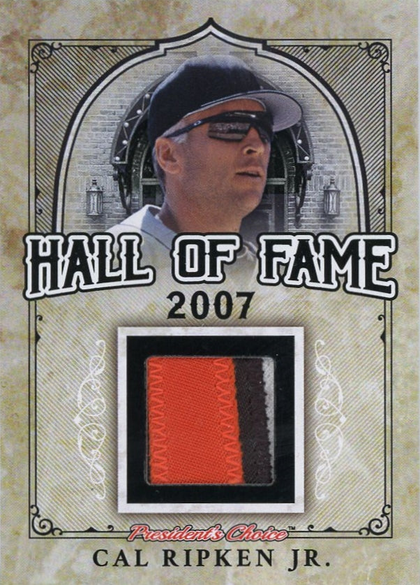 Cal Ripken Jr. Hall of Fame 1/1