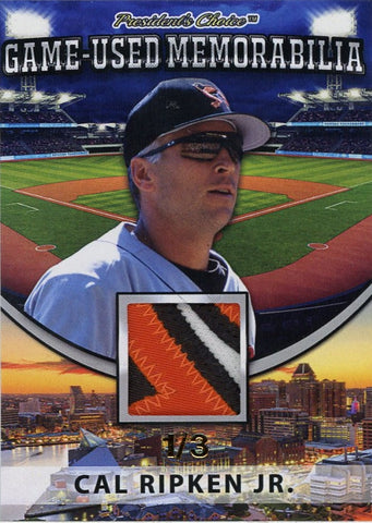 Cal Ripken Jr. Game-Used Memorabilia /3