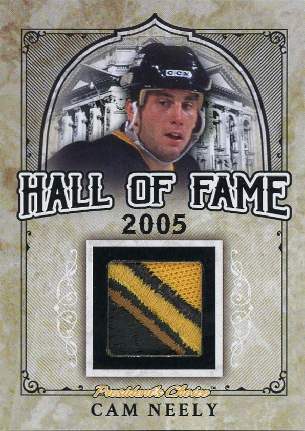 Cam Neely Hall of Fame 1/1
