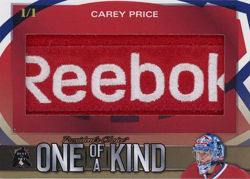 Carey Price One of a Kind 1/1