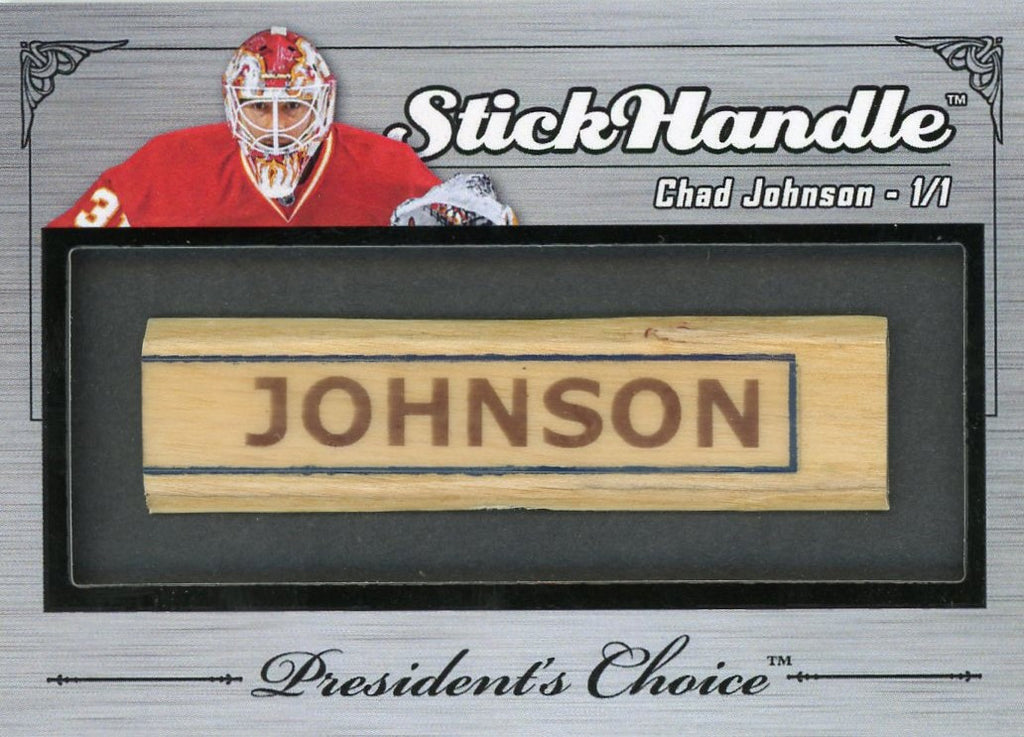 Chad Johnson StickHandles 1/1