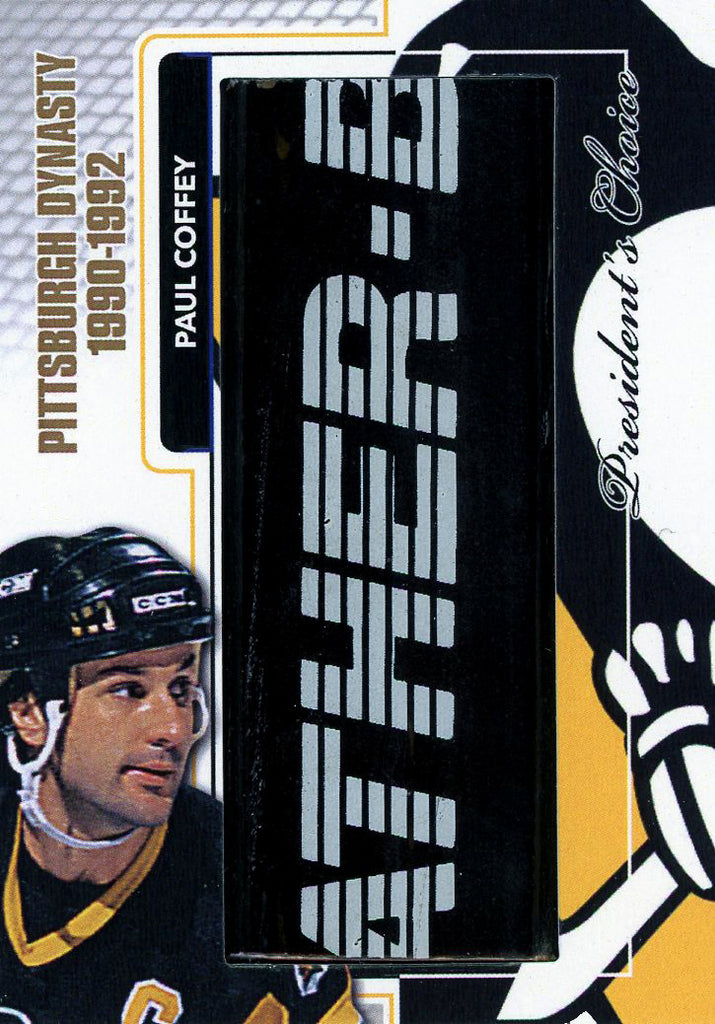 Paul Coffey Pittsburgh Dynasty StickRack 1/1