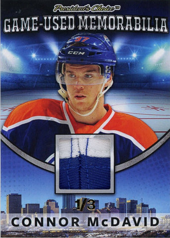 Connor McDavid Game-Used Memorabilia /3