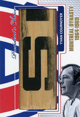 Yvan Cournoyer Montreal Dynasty StickRack 1/1