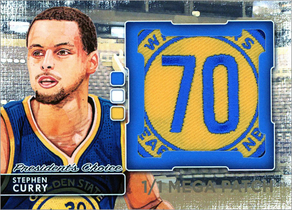 Stephen Curry MegaPatch 1/1