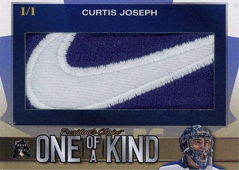Curtis Joseph One of a Kind 1/1 (Tag)