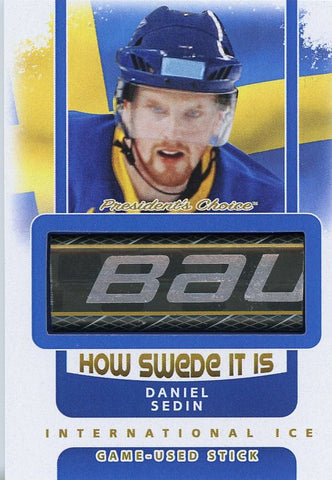 Daniel Sedin Game-Used Stick /3