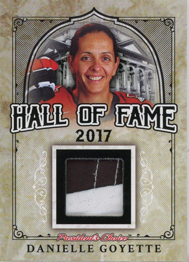 Danielle Goyette Hall of Fame 1/1