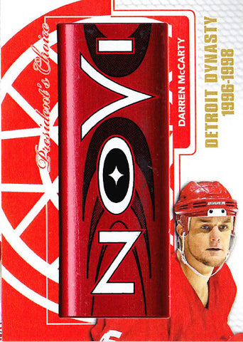 Darren McCarty Detroit Dynasty StickRack 1/1