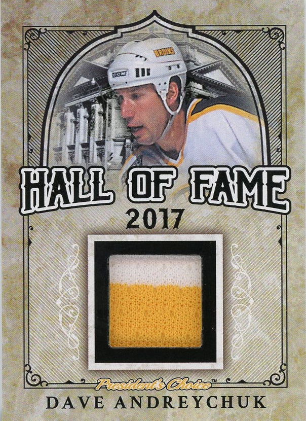 Dave Andreychuk Hall of Fame 1/1
