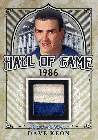 Dave Keon Hall of Fame 1/1
