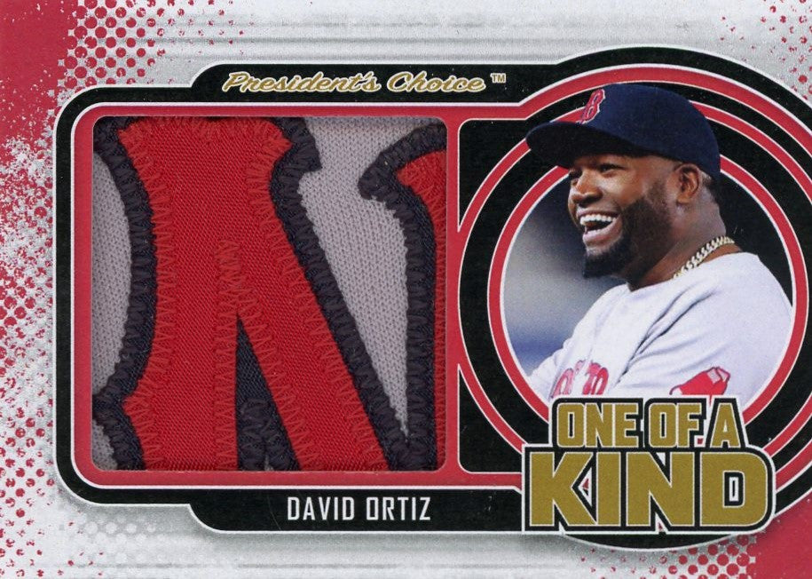 David Ortiz One of A Kind 1/1